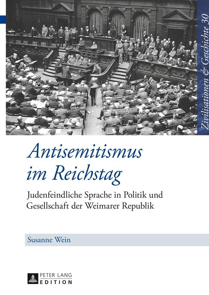 Antisemitismus im Reichstag als Buch von Susann...