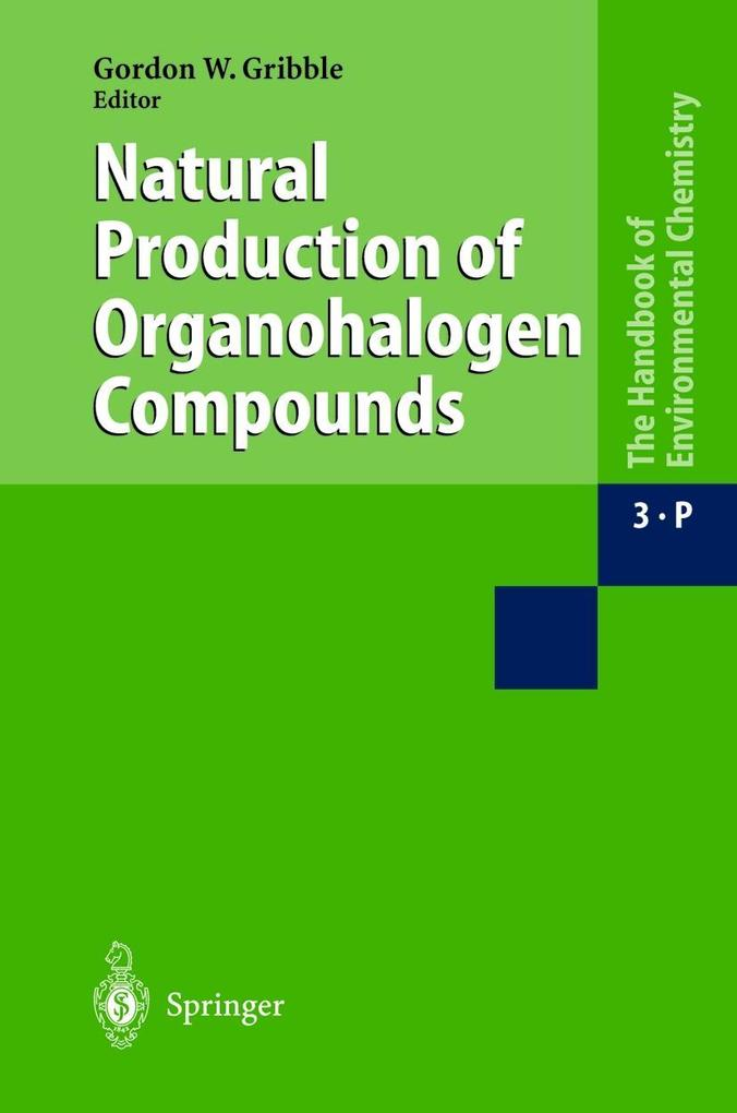 Natural Production of Organohalogen Compounds als Buch