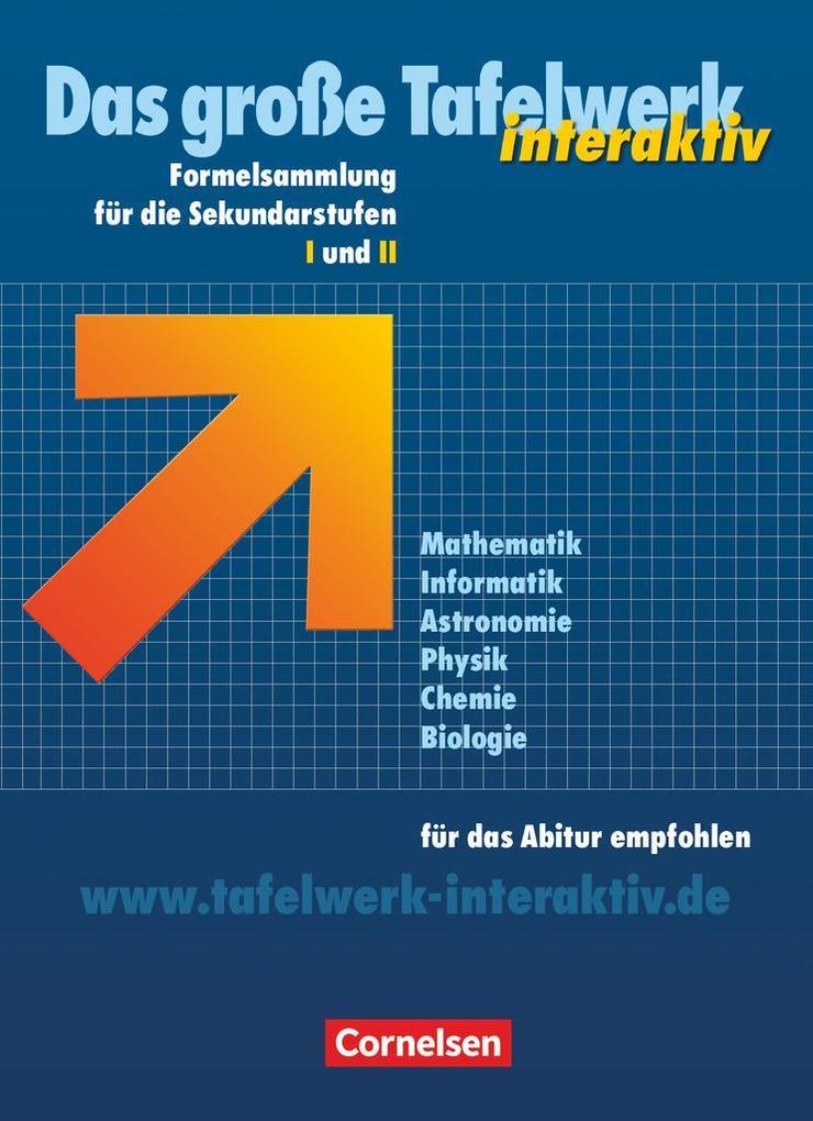 Das große Tafelwerk interaktiv. Allgemeine Ausg...