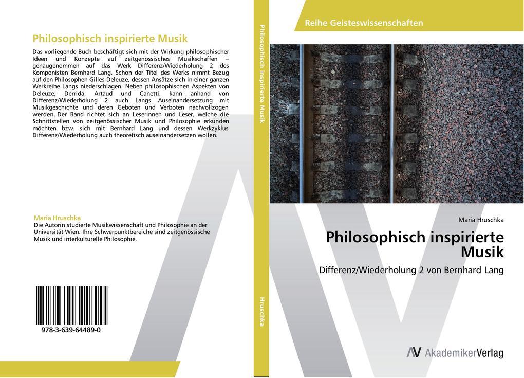 Philosophisch inspirierte Musik als Buch von Ma...