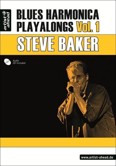 Blues Harmonica Playalongs. Vol. 1. Deutsche Ausgabe als Buch