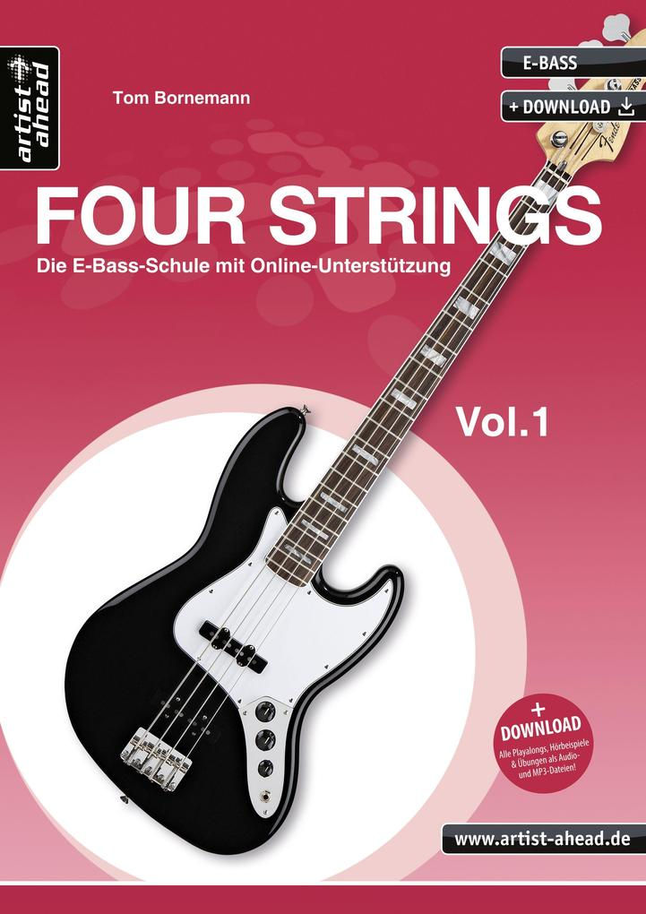 www.four-strings.de als Buch