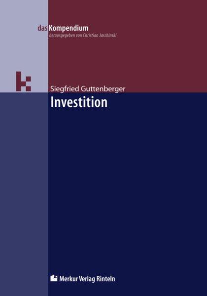 Investition als Buch