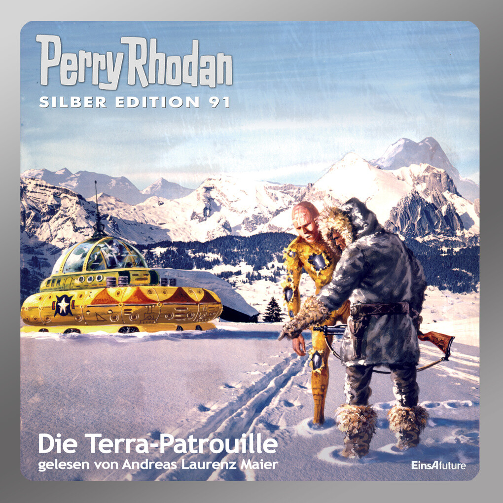Perry Rhodan Silber Edition 91: Die Terra-Patro...