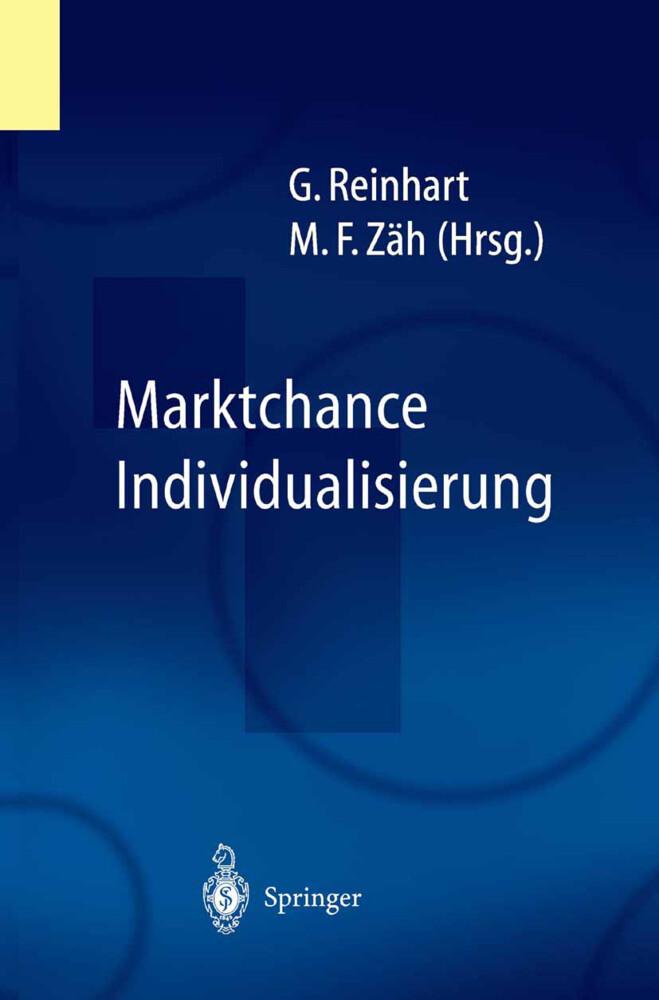 Marktchance Individualisierung als Buch