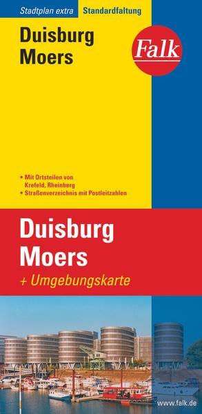 Falk Stadtplan Extra Standardfaltung Duisburg Moers als Buch