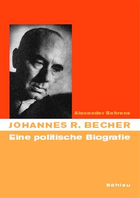 Johannes R. Becher als Buch