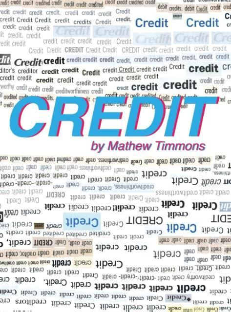 CREDIT als Buch von Mathew Timmons
