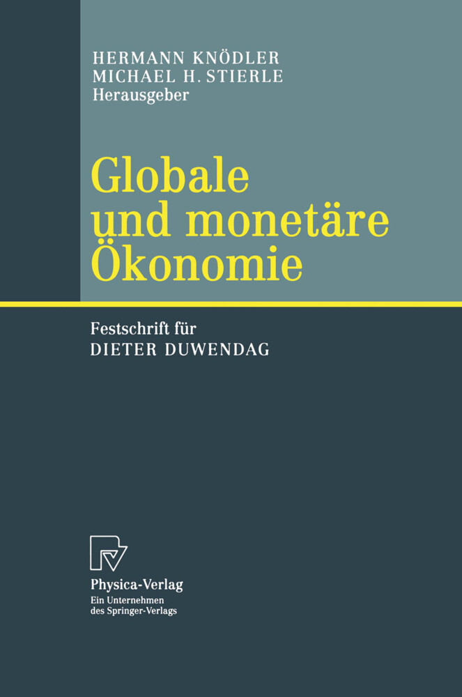 Globale und monetäre Ökonomie als Buch