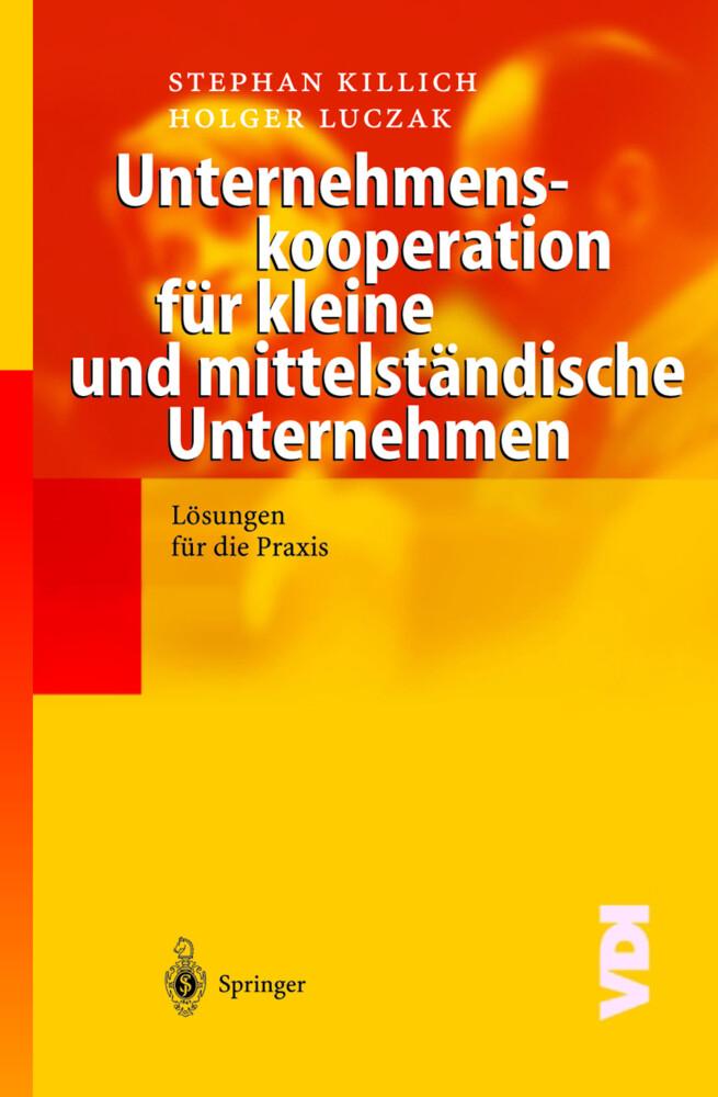 Unternehmenskooperation für kleine und mittelständische Unternehmen als Buch