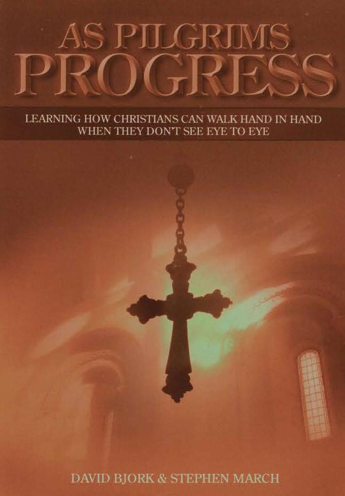 As Pilgrims Progress - Learning how Christians can walk hand in hand when they don't see eye to eye als Buch (gebunden)
