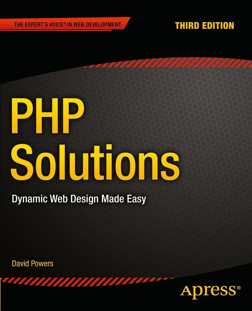 PHP Solutions als Buch von David Powers