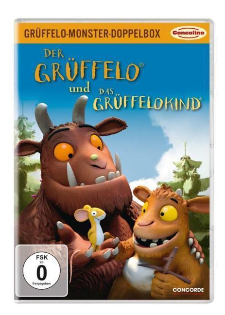 Der Grüffelo. Grüffelo-Monster-Doppel-Box: Der Grüffelo & Das Grüffelokind als DVD