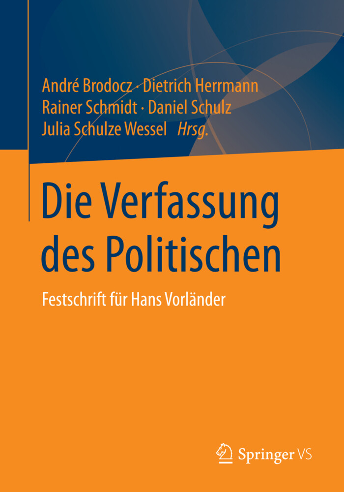Die Verfassung des Politischen als Buch von