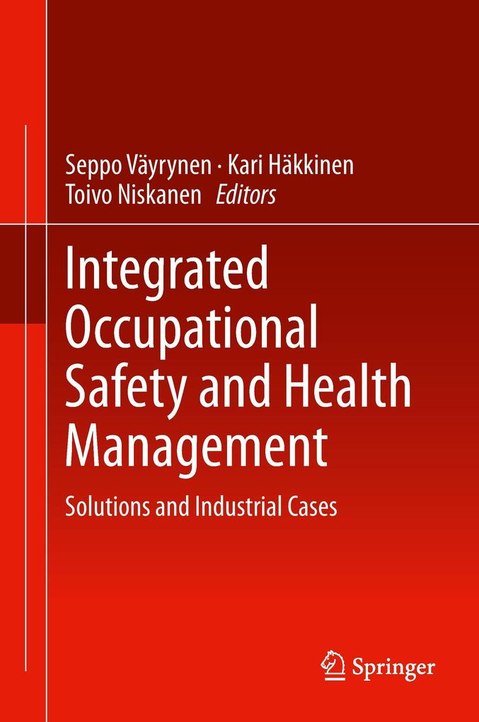 Integrated Occupational Safety and Health Management als Buch (gebunden)