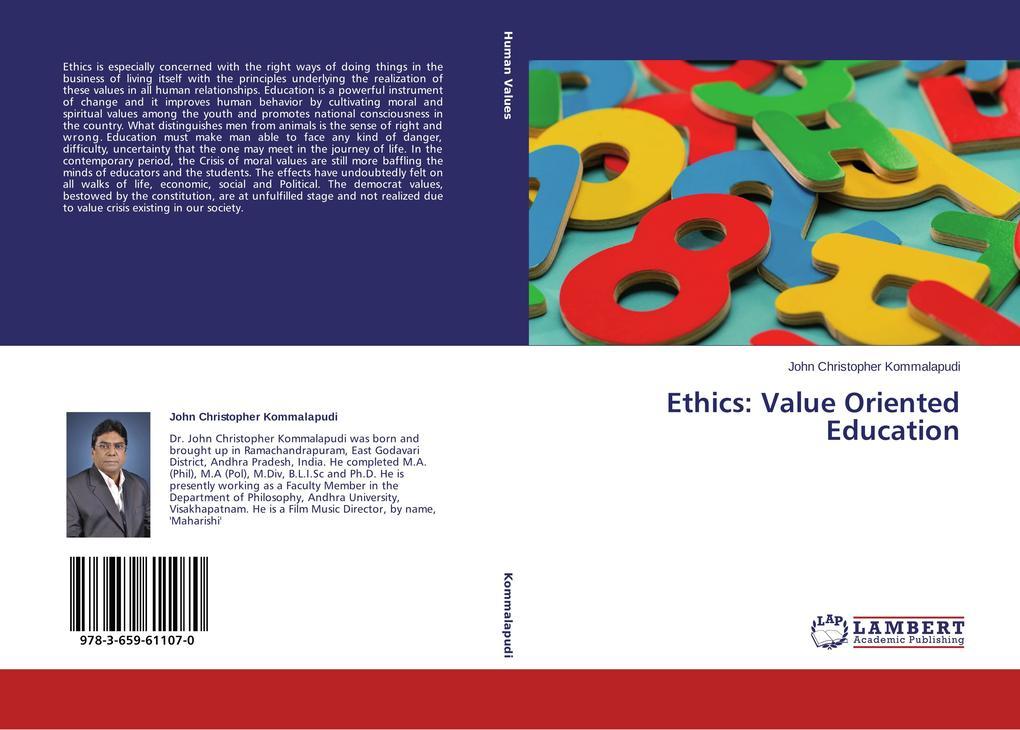 Ethics: Value Oriented Education als Buch (gebunden)