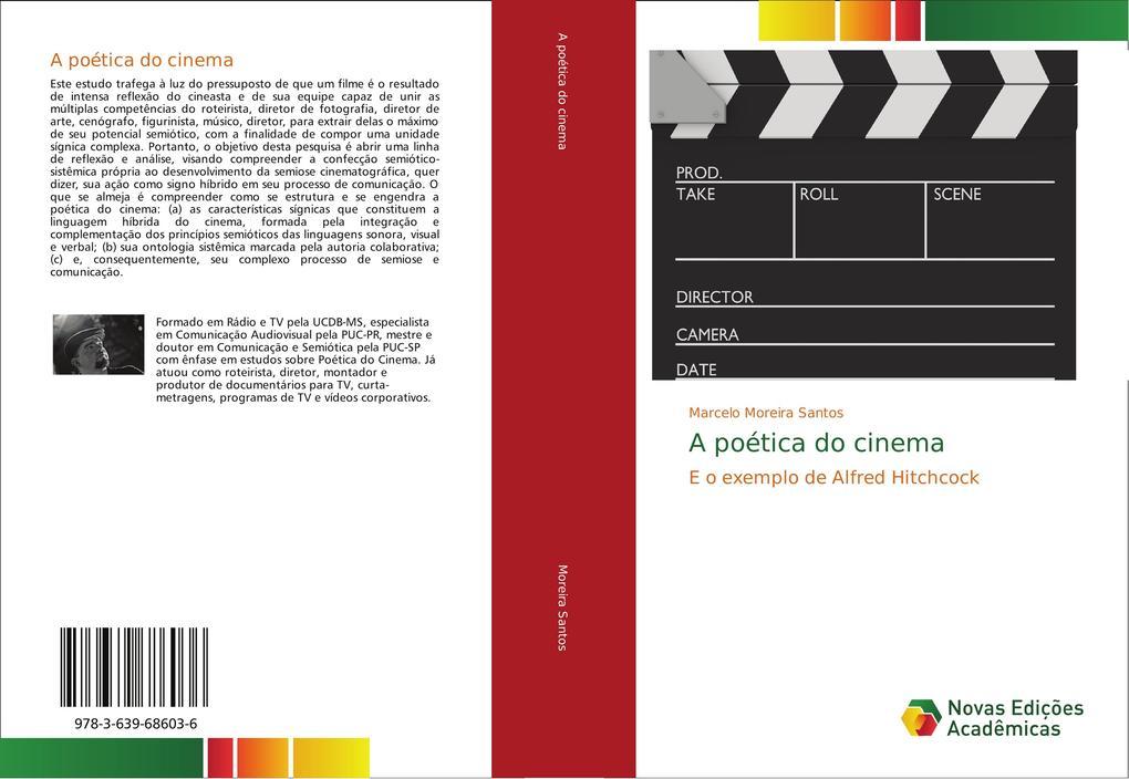 A poética do cinema als Buch (gebunden)