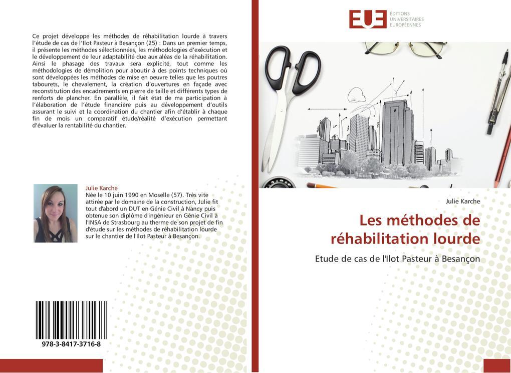 Les méthodes de réhabilitation lourde als Buch (gebunden)