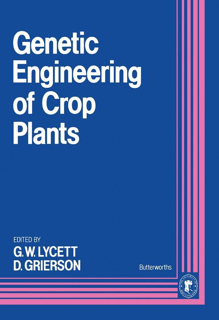 Genetic Engineering of Crop Plants als eBook Do...