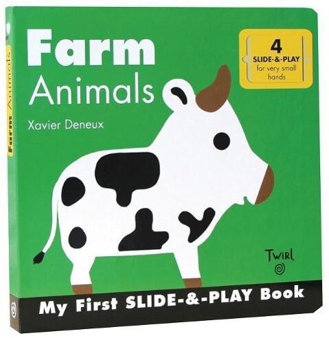 Farm Animals (Slide-and-Play) als Buch (gebunden)