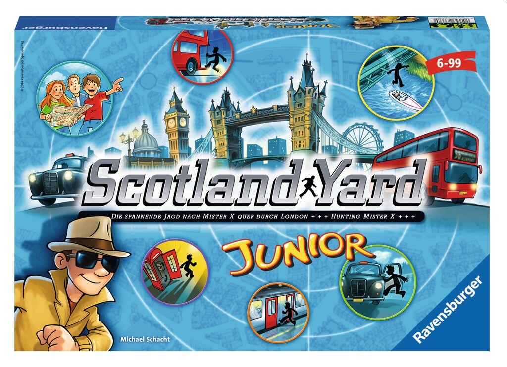 Scotland Yard Junior als Spielware
