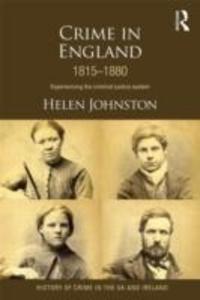 Crime in England 1815-1880 als Taschenbuch
