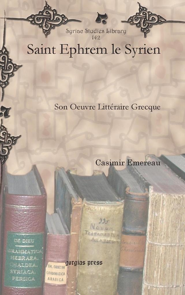 Saint Ephrem le Syrien als Buch (gebunden)