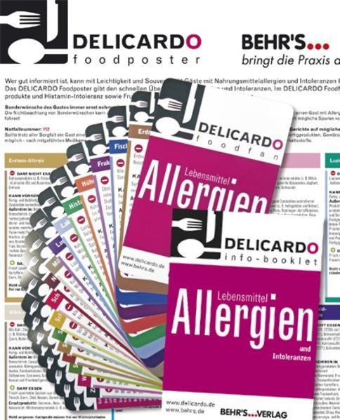 DELICARDO Foodfan, Allergiefächer als Sonstiger Artikel
