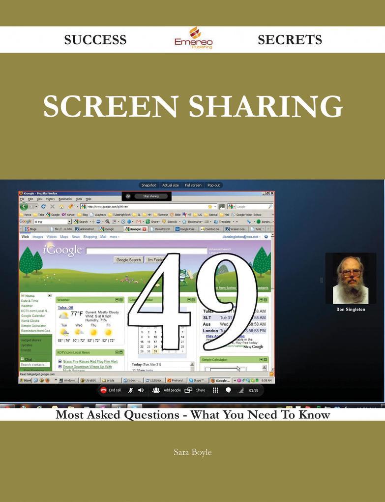 screen sharing 49 Success Secrets - 49 Most Ask...