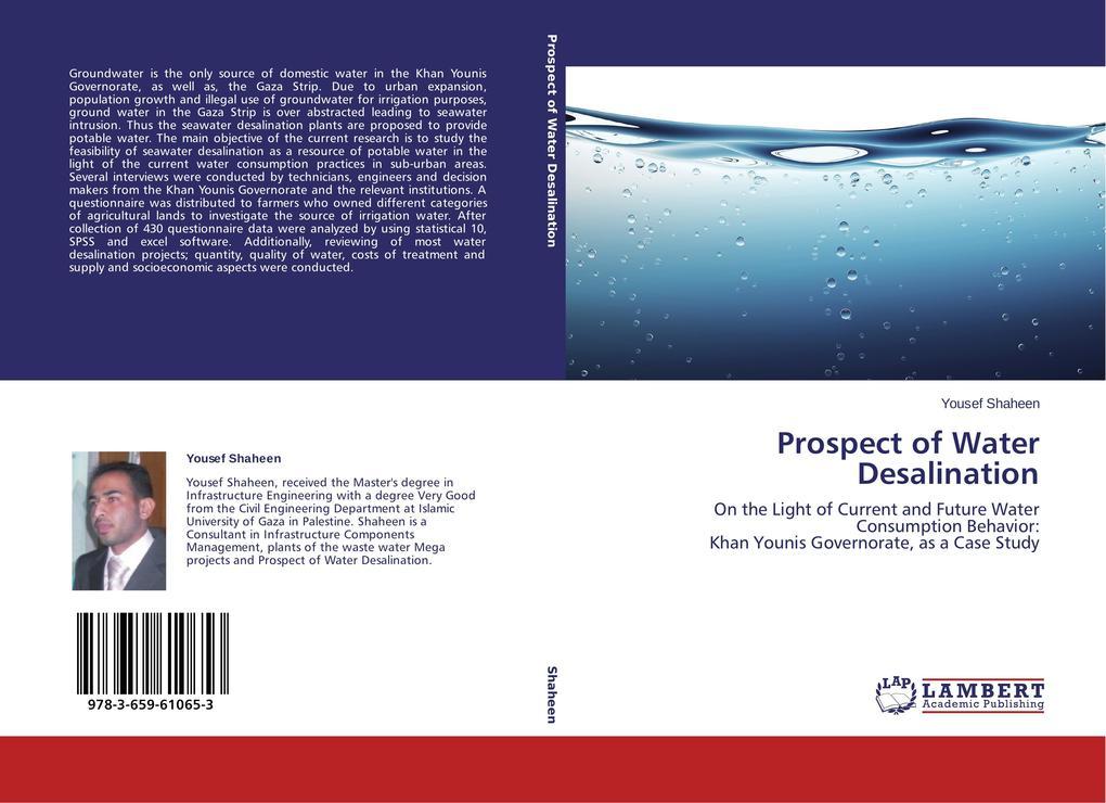 Prospect of Water Desalination als Buch (gebunden)
