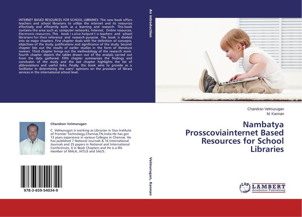 Nambatya Prosscoviainternet Based Resources for School Libraries als Buch (gebunden)