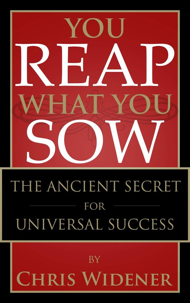 You Reap What You Sow als eBook epub