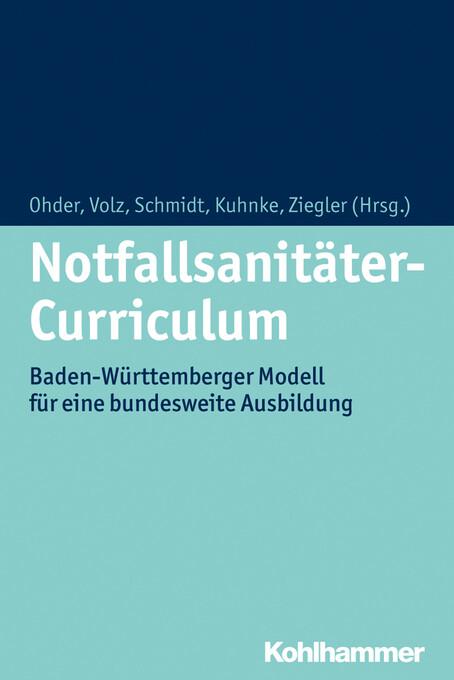 Notfallsanitäter-Curriculum als eBook Download von