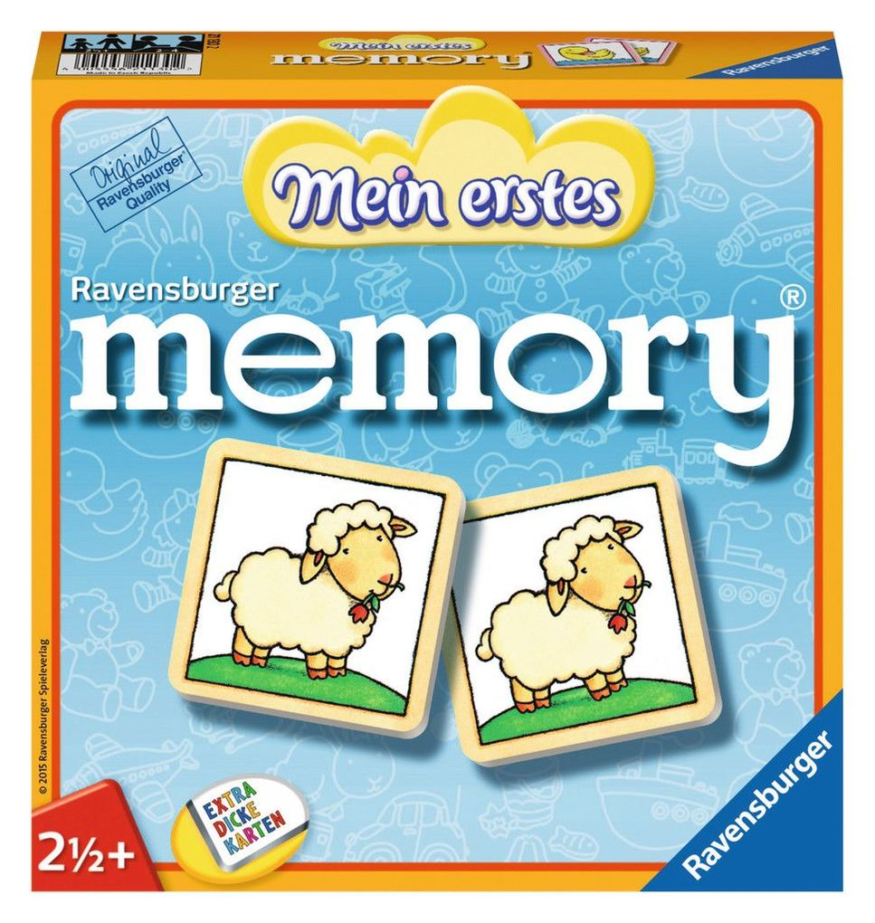 Mein erstes memory® als Spielware