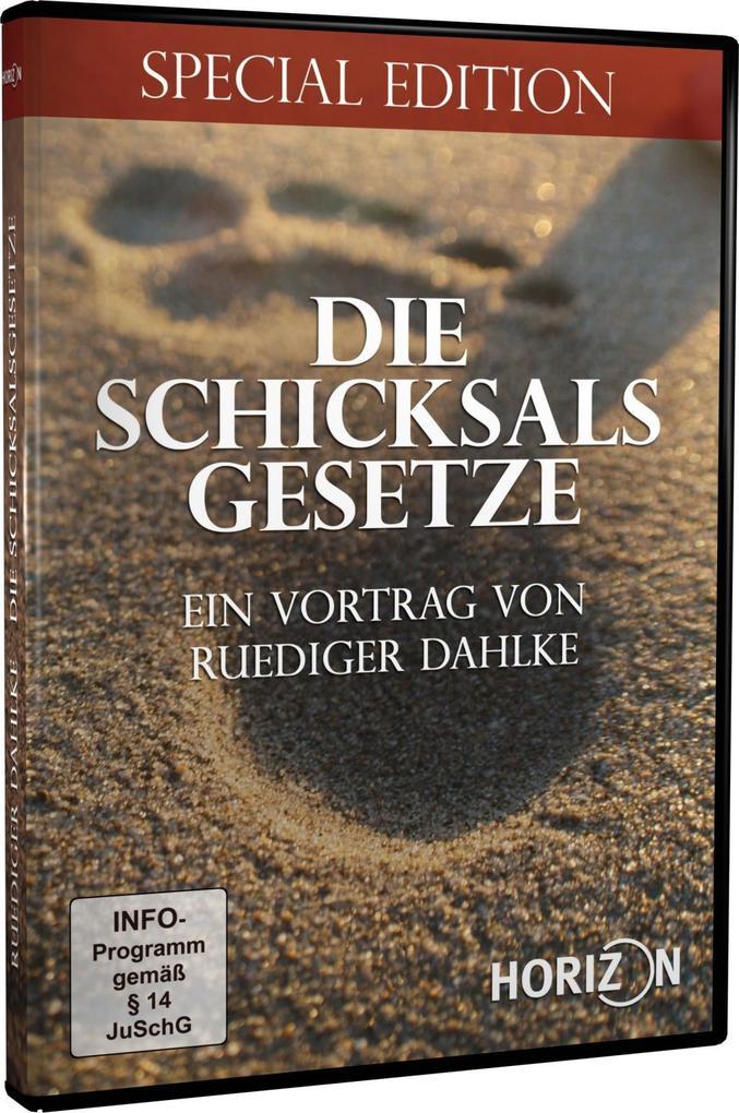 Die Schicksalsgesetze - Ein Vortrag von Ruediger Dahlke als DVD