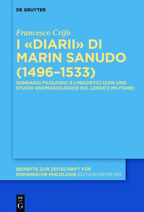I «Diarii» di Marin Sanudo (1496-1533) als eBook epub