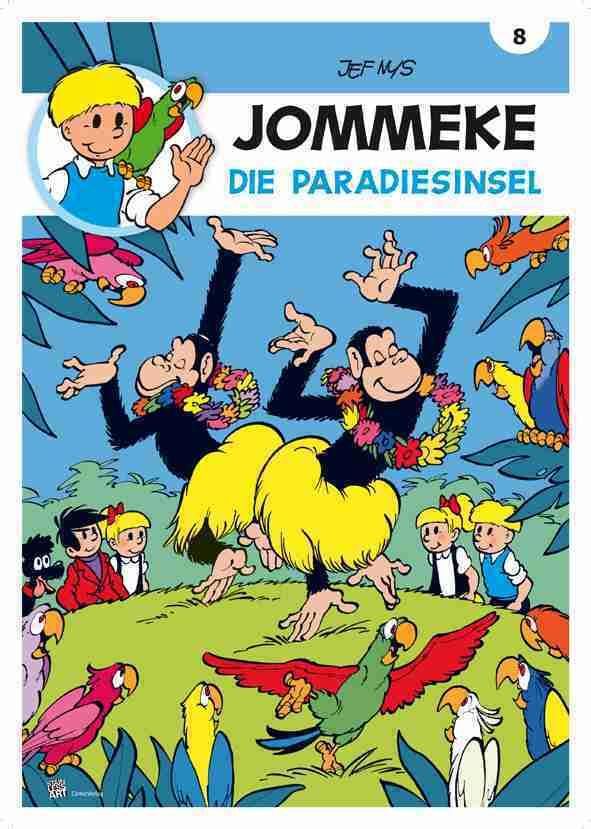 Jommeke - Die Paradiesinsel als Buch (gebunden)