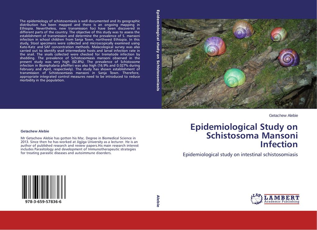 Epidemiological Study on Schistosoma Mansoni Infection als Buch (gebunden)
