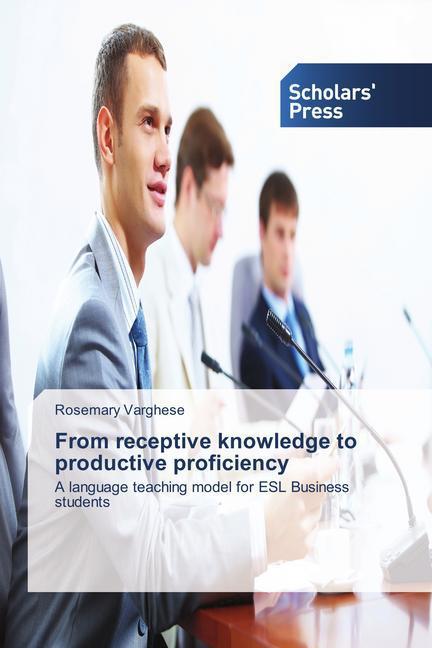 From receptive knowledge to productive proficiency als Buch (gebunden)