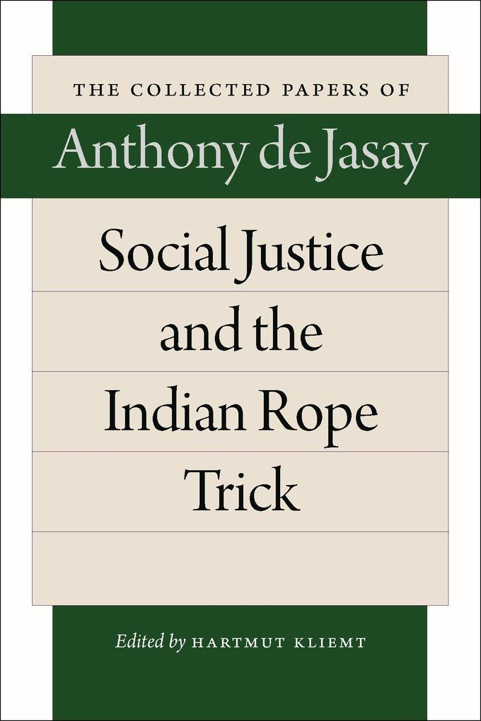 Social Justice & the Indian Rope Trick als Taschenbuch