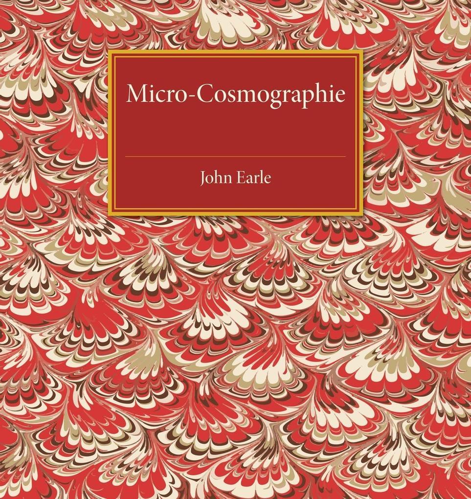 Micro-Cosmographie als Taschenbuch