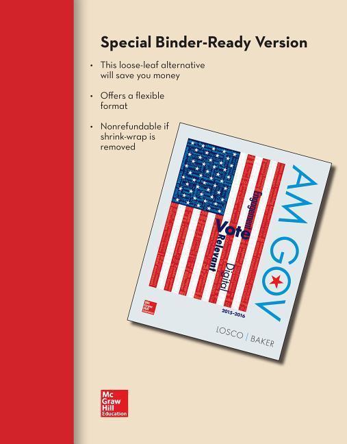 Looseleaf Am Gov 2015-20116 with Government in Action Access Card als Blätter und Karten