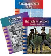 African American Historical Timeline - 3 Book Set - Grades 4-5 (Primary Source Readers)