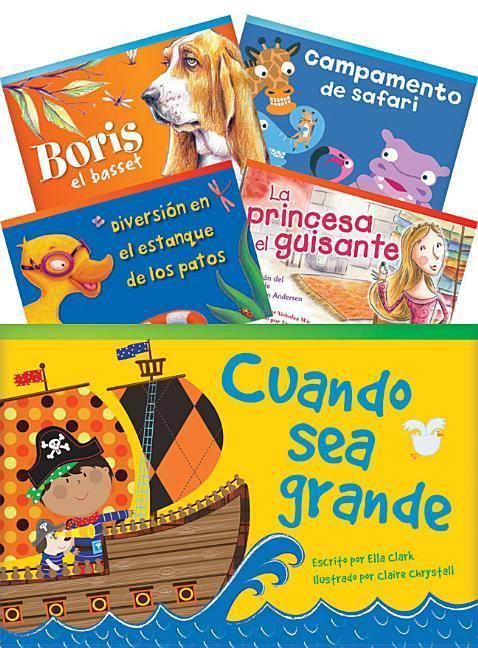 Literary Text Grade 1 Readers Spanish Set 1 10-Book Set (Fiction Readers) als Taschenbuch