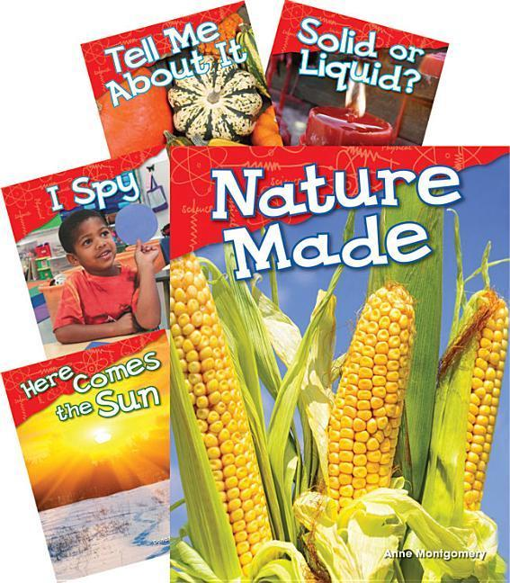 Physical Science Grade K: 5-Book Set (Content and Literacy in Science) als Buch (gebunden)
