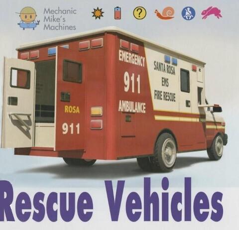 Rescue Vehicles als Buch (gebunden)
