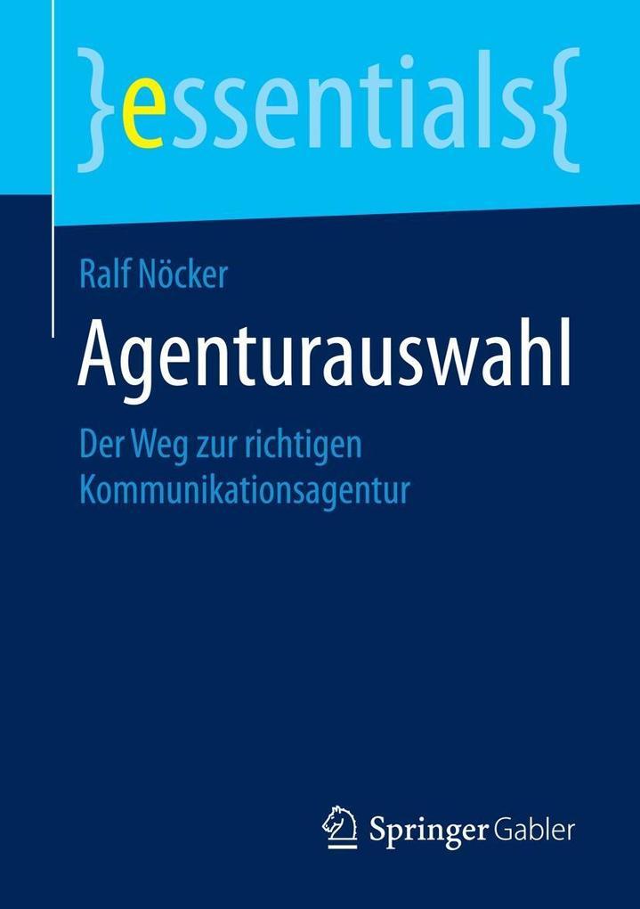 Agenturauswahl als eBook pdf