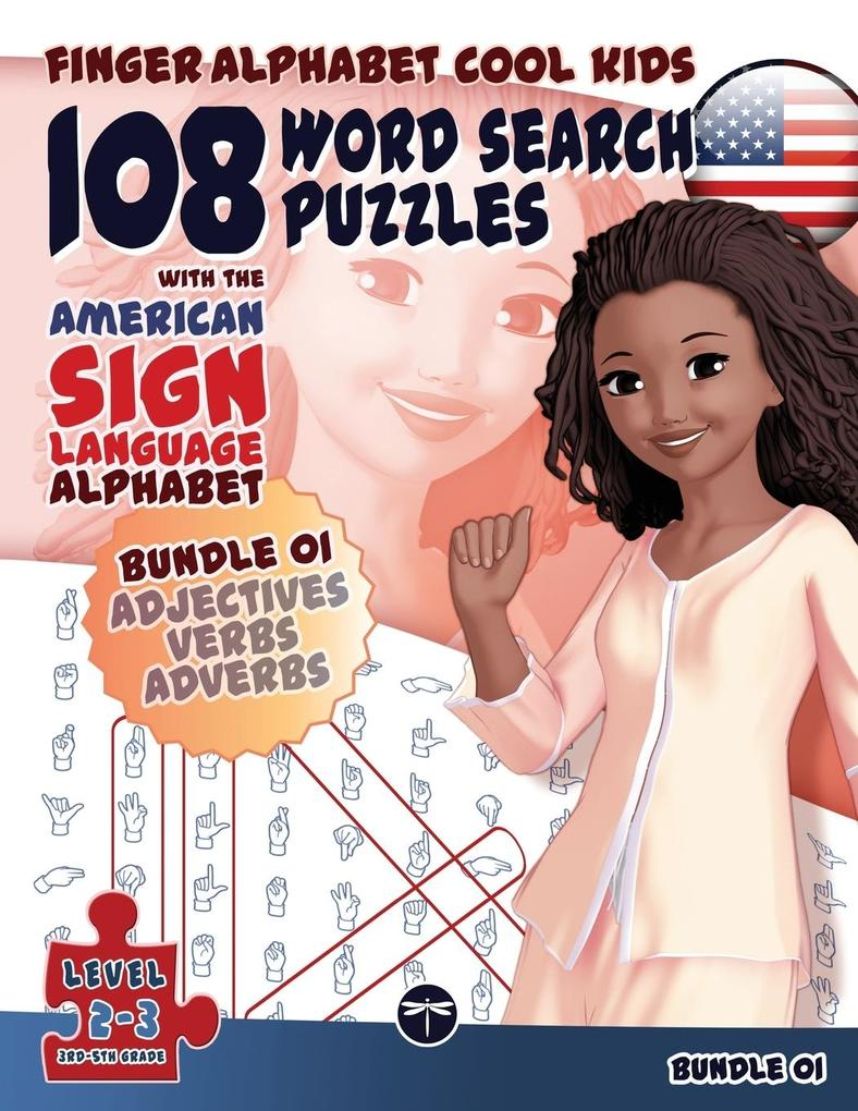 108 Word Search Puzzles with The American Sign Language Alphabet als Buch