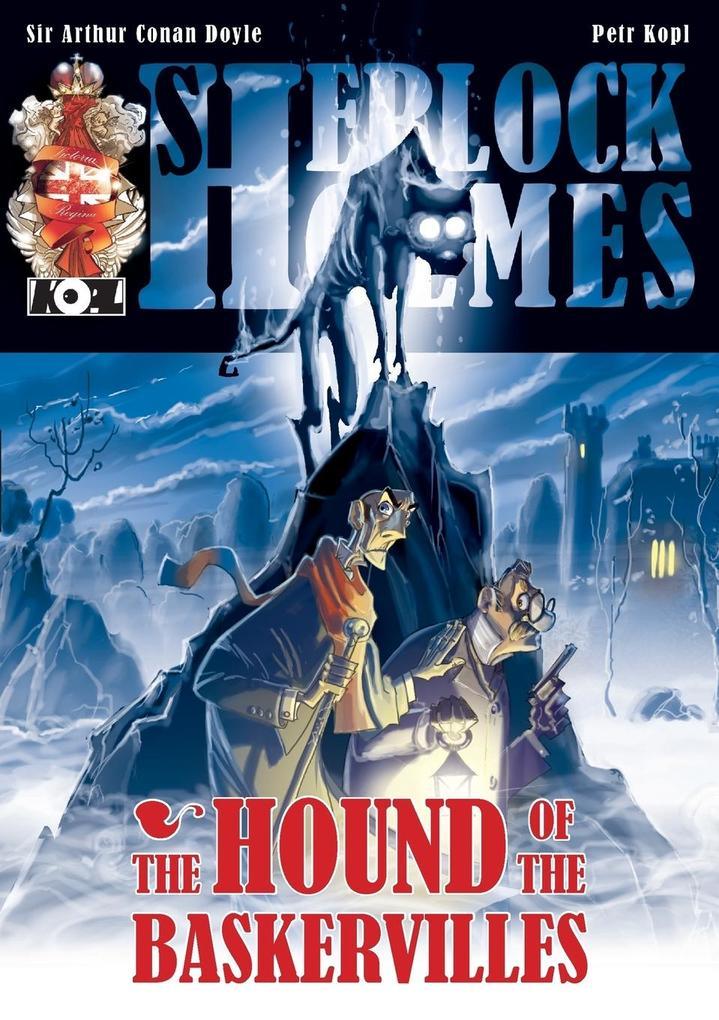 The Hound of the Baskervilles - A Sherlock Holmes Graphic Novel als Taschenbuch
