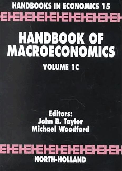 Handbook of Macroeconomics als Taschenbuch